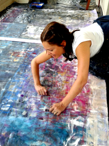 Karina Valderrama. Atelier Sao Paulo 2014