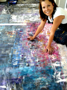 Karina Valderrama atelier Sao Paulo